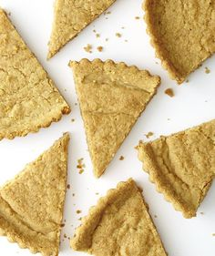 Fennel Shortbread With Vanilla and Walnuts | The richness of butter and walnuts tames the licorice bite of fennel in this fragrant, crumbly shortbread. For a sublime treat, enjoy a wedge alongside a cup of hot coffee or tea.