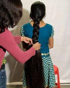 Indian Long Hair Braid, Braid Hair, Super Long Hair, Braids For Long Hair, Beautiful Long Hair, Pure Beauty, Braided Hairstyles, Random Things, Your Hair
