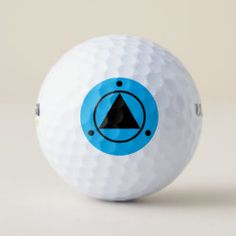 Golf Ball SACRED GEOMETRY black on light blue Hole In One, Golf Gifts, Golf Ball, Sports Equipment, Sacred Geometry, Rainbow Colors, Cover Design, Light Blue, Dots