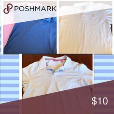 ‼️Flash Sale‼️ 4 Men's Collared Shirts 4 gently used names shirts. 2 Apt. 9 size L, 1 South Pole and one other size XL. Price may be negotiable. Apt. 9 Shirts Polos