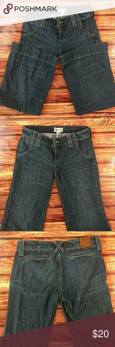 """BCBG Generation Wide Leg Jeans Size 30 Wide Leg EUC 33"""" inseam BCBGeneration Jeans Flare & Wide Leg"""
