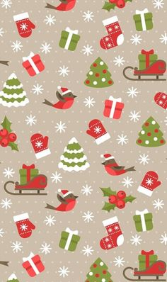 Trendy Ideas for kawaii christmas wallpaper wrapping papers Noel Christmas, Christmas Paper, Christmas Images, Christmas Wrapping, Christmas Quotes, Christmas Wishes, Christmas 2019, Winter Christmas, Christmas Decor