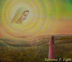 «Adoration» -  painter  Tatiana F. Light - «Поклонение»