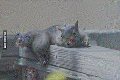 Supposedly this image was created by A.I. (Artificial Intelligence)