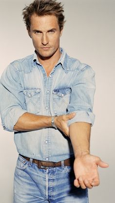 Matthew McConaughey => hotness