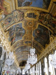 Versailles's Hall of Mirrors