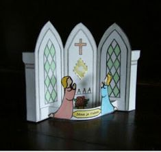 Free Preschool, Preschool Printables, Catholic Crafts, Holiday Crafts For Kids, Eucharist, First Holy Communion, Praise The Lords, Holidays With Kids, Sunday School