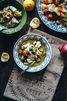 """Psarosoupa""- Greek Style Fish Soup (Souvlaki For The Soul)"