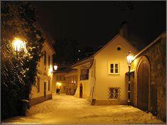 Praha/ Prag/ Prague, Hradcany-Novy svet/ Neuwelt-Gasse/ New World Lane Prague Christmas, Prague Czech Republic, Heart Of Europe, Central Europe, Most Beautiful Cities, Eastern Europe, European Countries, World, Winter