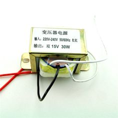 Find More Electronics Production Machinery Information about 30 w double 15 v power supply transformer input: 220v/50hz output: double 15v,High Quality supplies to make jewelry,China transformers school supplies Suppliers, Cheap transformer mic from Goldeleway smart orders store on Aliexpress.com