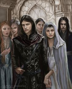 Half Noldor - Aredhel and Maeglin return by Ladyoftheflower on DeviantArt
