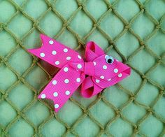 Sculpted Fish Hair Clip You choose your color by sotweetbowtique, $4.00