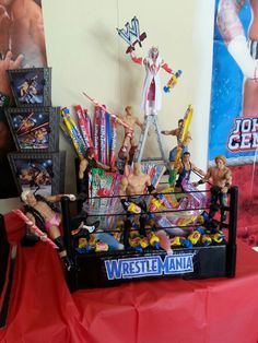9 Best Wwe Birthday Party Ideas Images On Pinterest Wwe Birthday