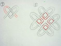 Drawing celtic knots