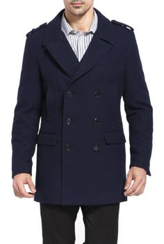 Marc New York by Andrew Marc Kerr Pea Coat (For Men) | Lee ...