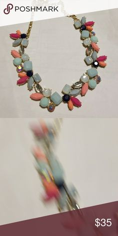 J.crew necklace Nwt j.crew adjustable length multi color necklace J. Crew Jewelry Necklaces