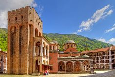 The Ambling Rambler: The Rila Monastery