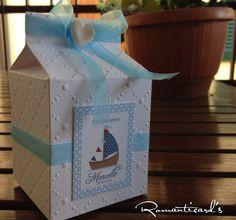 Scatola Nautica con cuore in fimo by Romanticards, by Romanticards e Little Rose Handmade, 1,50 € su misshobby.com