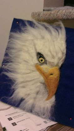 This is the Christmas 2013 Eagle I made for Stephen