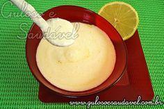 O Molho de Iogurte é definitivamente um dos meus preferidos para temperar uma salada ou..., pois é fácil de fazer e delicioso!  #Receita aqui: http://www.gulosoesaudavel.com.br/2011/09/29/molho-de-iogurte/