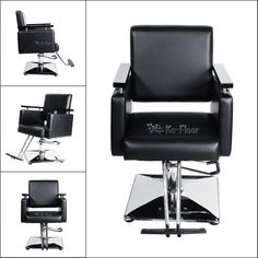 New Black Fashion All Purpose Hydraulic Barber Salon Chair Shampoo | Health & Beauty, Salon & Spa Equipment, Stylist Stations & Furniture | eBay!
