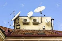 Image result for antennas on roofs