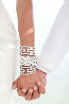 Why not wear statement pieces on your big day! www.bellagioandco.com