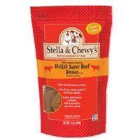 Stella & Chewy's Stella's Super Beef Dinner Freeze-Dried Dog Food, 6-oz bag - http://www.thepuppy.org/stella-chewys-stellas-super-beef-dinner-freeze-dried-dog-food-6-oz-bag/