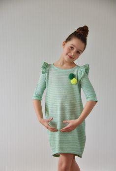 emma en mona: Deense gezelligheid met Trine Trine van Groovy baby and mama: patroon cocoon dress