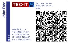 Qr-Code business card