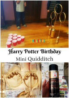 I searched online and collected these 14 Awesome DIY Harry Potter Birthday Party ideas for a birthday party my little wizard loved!