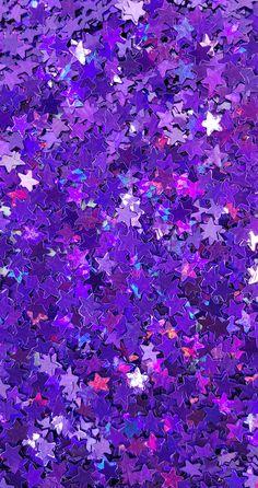 Purple Star :Polyester Shaped Glitter (Mini) – Room – Home Epoxy Dark Purple Aesthetic, Lavender Aesthetic, Violet Aesthetic, Rainbow Aesthetic, Aesthetic Colors, Aesthetic Collage, Aesthetic Pictures, Aesthetic Gif, Aesthetic Grunge
