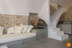 Casetta centro storico 03 Stairs, Couch, Furniture, Home Decor, Stairway, Settee, Decoration Home, Sofa, Room Decor