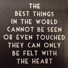 The best things....   Spreuken   Stoer en Sfeer
