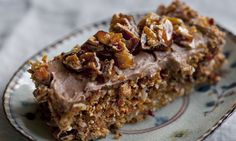 Nigel Slater's butter recipes | Nigel Slater Coffee, Nutella and praline slice