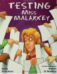 Free online book, Testing Miss Malarkey and ideas for easing test anxiety.