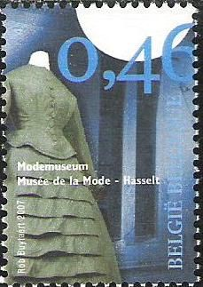Belgian stamps Small Musea. Fashion Museum - Hasselt