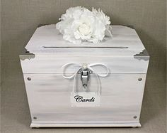 Card Box...would add purple flower as well as a silver butterfly