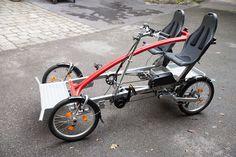 Der neue 2-Rider electric 4 Wheel Bicycle, Bike, Electric, Motorcycle, Logan, Vehicles, Stuff To Buy, Cars, Tandem Bicycle