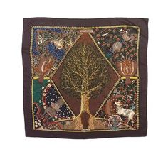 Hermes Brown Tone - Axis Mundi Silk Scarf. Get the lowest price on Hermes Brown Tone - Axis Mundi Silk Scarf and other fabulous designer clothing and accessories! Shop Tradesy now