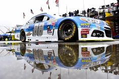 The Chevy race car Dale Earnhardt Jr. will race at New Hampshire International Speedway on July 19, 2015.