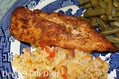 Grilled Fajita Chicken and Rice
