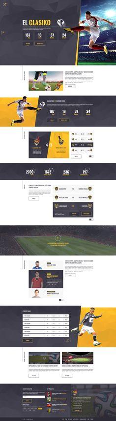 Soccer Acumen - Soccer and Football Club PSD Template by Design-Acumen