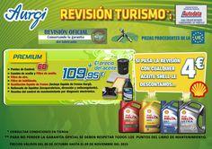 Oferta Revisión Premium (Válido del 09 de octubre al 09 de noviembre 2015). AMPLIADO HASTA EL 17 DE NOVIEMBRE DE 2015. Más información en www.aurgi.com/