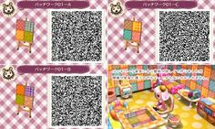 Patchwork Tiles -  Animal Crossing New Leaf QR Code