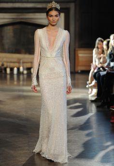 Inbal Dror Wedding Dresses Fall 2015 | Maria Valentino/MCV Photo | Blog.theknot.com