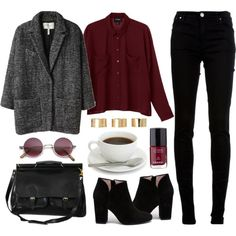 Untitled by hanaglatison on Polyvore featuring moda, Monki, dVb Victoria Beckham, Opening Ceremony, ASOS, Isabel Marant and Chanel