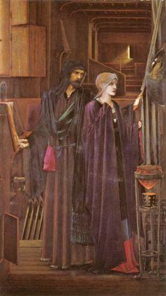 The Wizard Sir Edward Burne-Jones - 1896-1898
