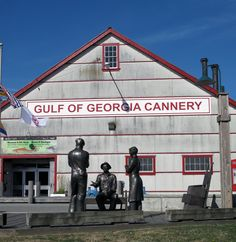 Gulf of Georgia Cannery at Steveston Village near Vancouver