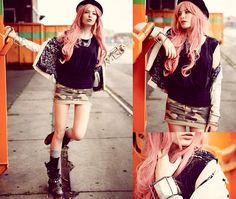 My world is where you are. (by Lina Tesch) http://lookbook.nu/look/3787505-my-world-is-where-you-are